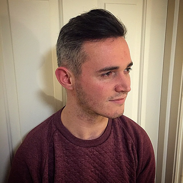 gents hair clipper cut