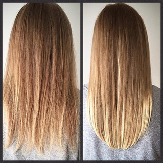 Balmain Hair Extension Transformation