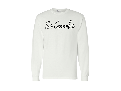 "Sir Cannabis Crew Neck Sweaters ""Champion"""