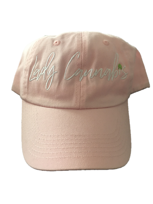 Lady Cannabis Dad hats