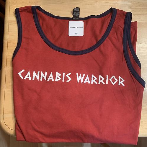 Cannabis Warrior Tank Tops