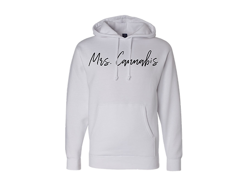Mrs.Cannabis Hoodies