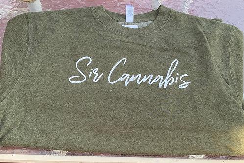 Sir Cannabis Crew Neck Sweater
