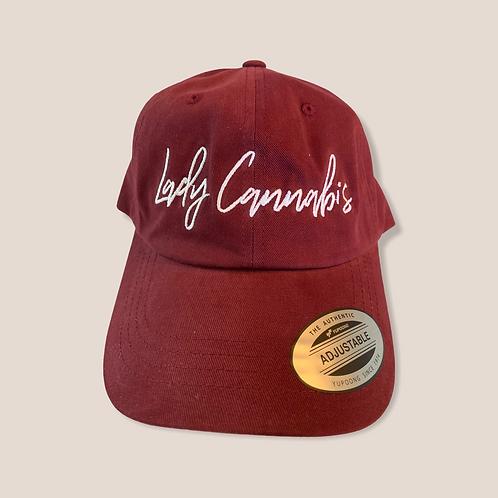 Lady Cannabis Dad hats
