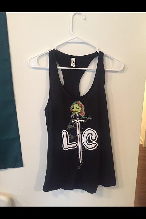 Lady Cannabis Sword Tanks
