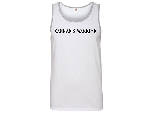Cannabis Warrior Tank Tops