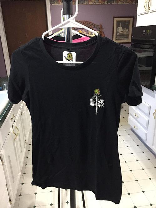 Lady Cannabis Sword T Shirt