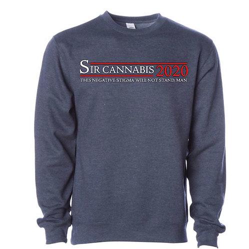 Sir Cannabis 2020 Crewneck Sweater