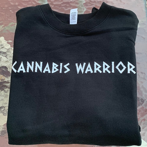 Cannabis Warrior Crewneck Sweater