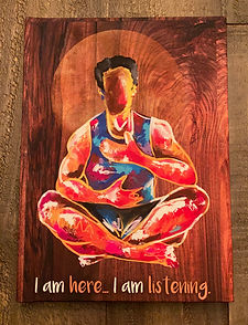 Replenish Yoga and RDC Gallery journal l