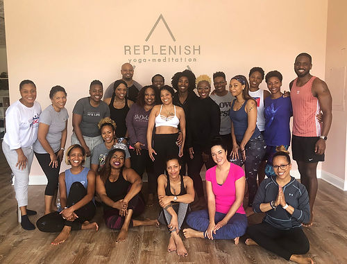 Replenish yoga group class in Bowie.jpg