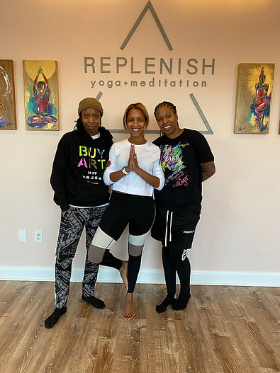 RDC Gallery with Replenish Yoga in Bowie
