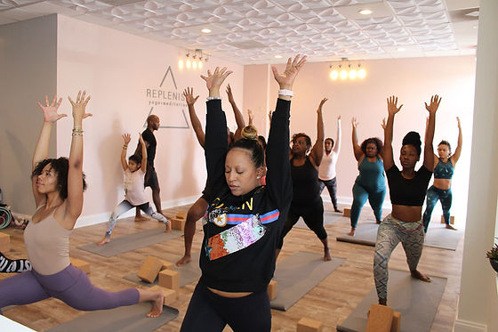 Replenish yoga class all levels