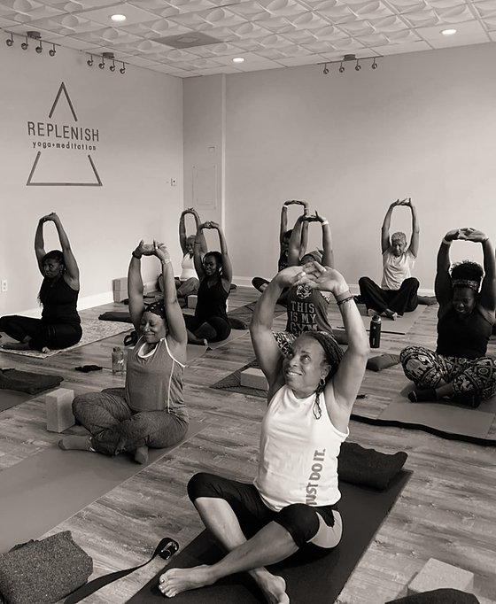 intro to flow yoga class