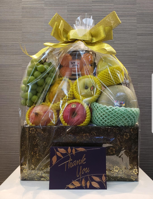櫻· 豪華水果籃  $888