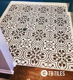 Modern laundry tile contemporary design