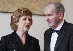 President McAleese at the final concert in 2007