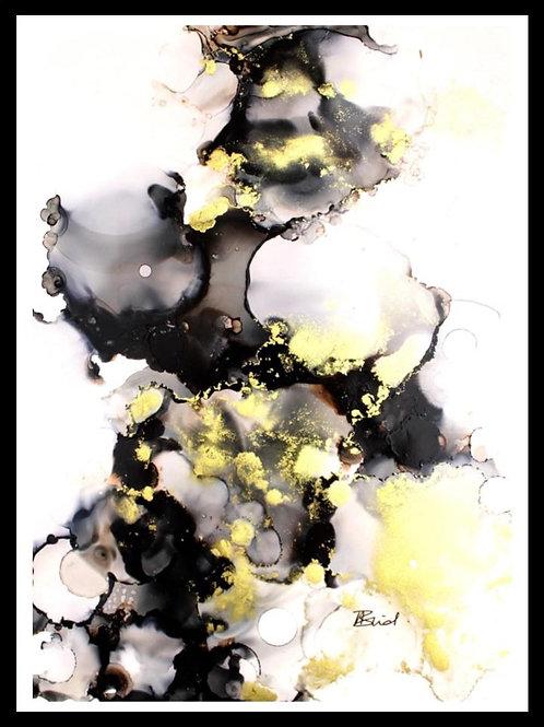 Black & Gold Study
