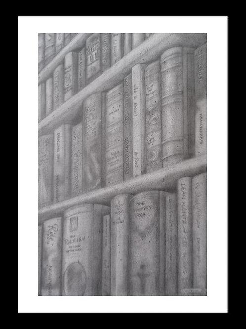 Stone Bookcase