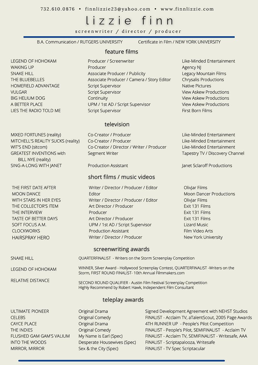 Blue LizzieFinn Film Resume.png