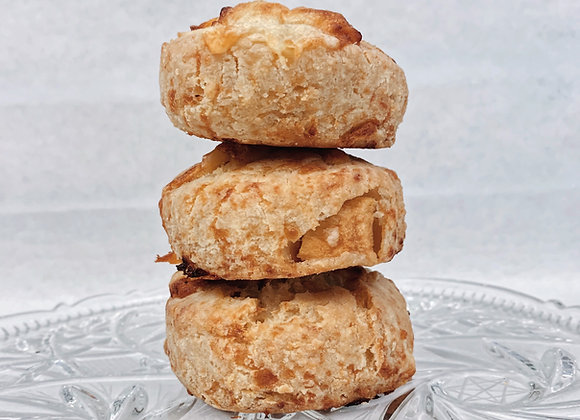 Apple & Aged Cheddar Scone