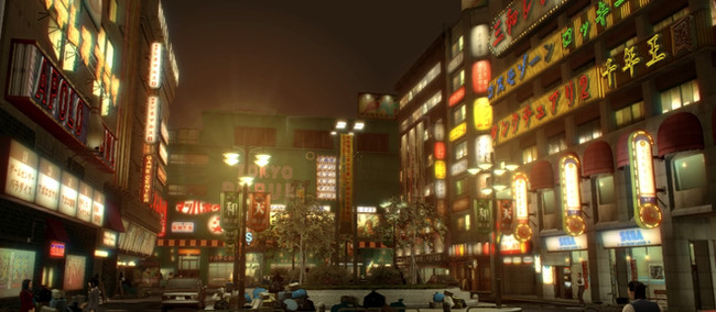 Revisiting Kamurocho: an extended gallery