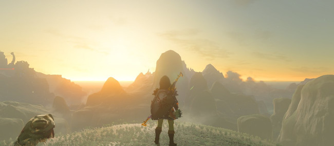 Sightseeing in Hyrule: A Breath of the Wild Gallery