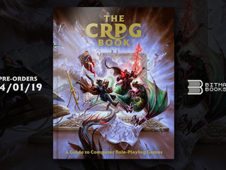 Bitmap Books Publishes The CRPG Book