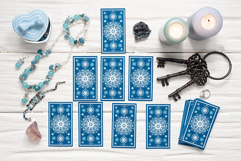 (Reading will be open again in June) 30-35 Min session Tarot recorded Video