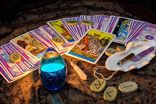 (Reading will be open again in June) 60 - 65 min Tarot recorded Video