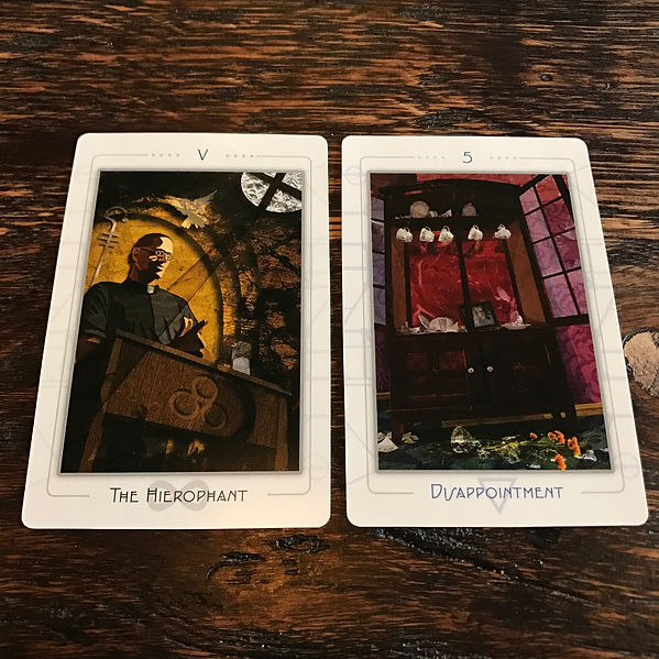 Conflict, Constructs and Contests - the 5's, The Hierophant