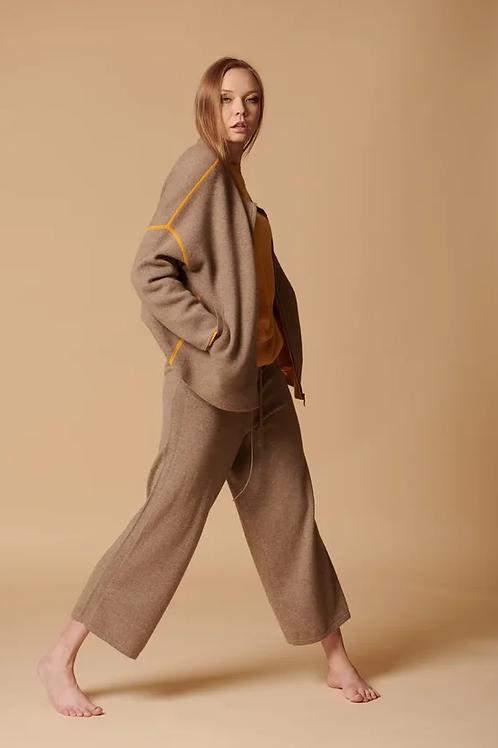Трикотажный жакет женский 100% кашемир Royal cashmere