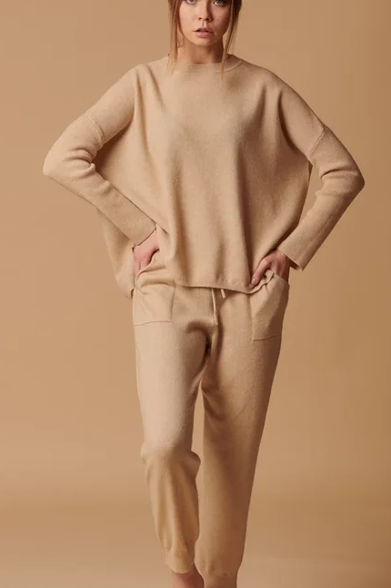Брюки - джоггеры  женские 100% кашемир Royal cashmere