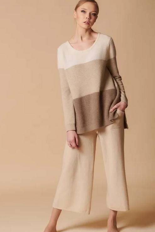 Брюки-кюлоты женские 100% кашемир Royal cashmere