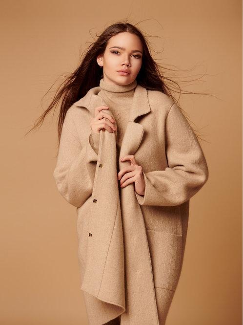 Женское пальто 100% кашемир Royal cashmere