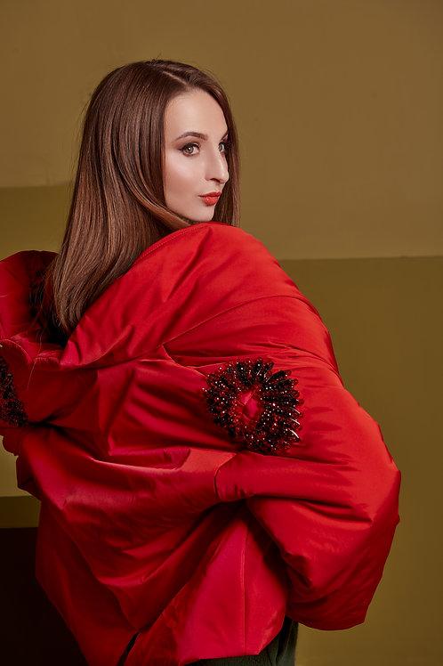 Куртка женская BEKAREVA RED