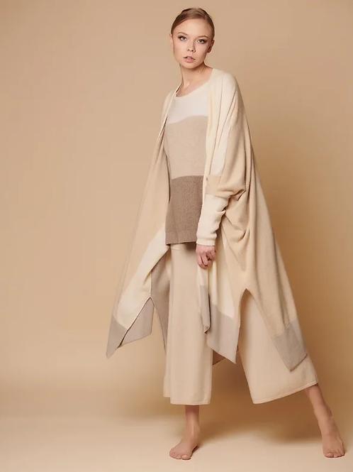 Кардиган - пончо женский 100% кашемир Royal cashmere