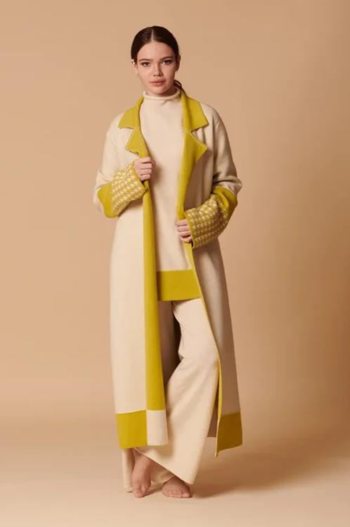 Пальто женское 100% кашемир Royal cashmere
