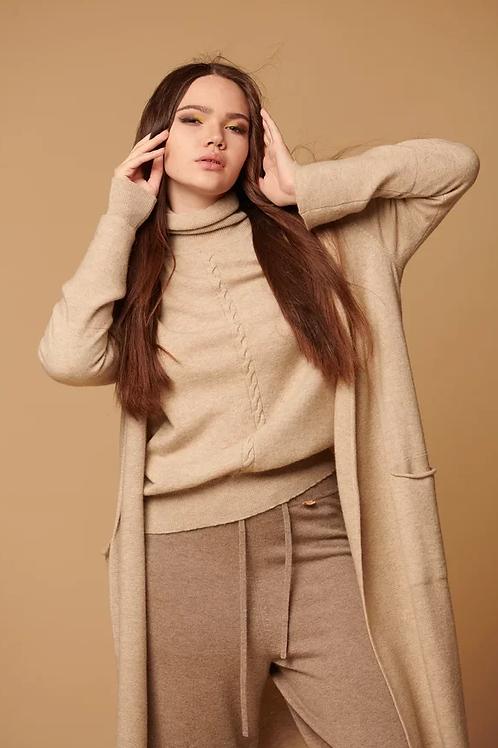 Женский кардиган 100% кашемир Royal cashmere