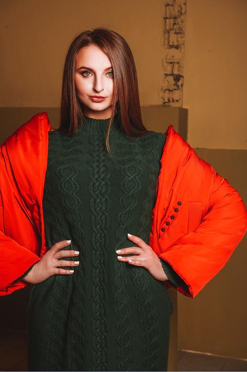 Платье 100% кашемир BEKAREVA RED