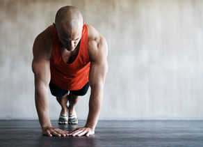Push-Up Progression with Yoga Blocks