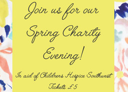 Join us for our Spring Fashion Evening!