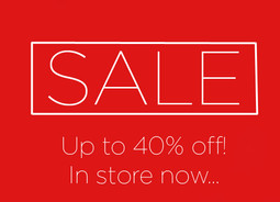 Our fabulous summer sale is now on!