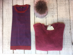 It's knitwear season, and we are fully embracing it!