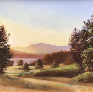 Discovery Park, Oil on Panel, 8 x 10, Collection of the Artist