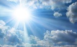 Himmel mit Sonne1