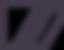 Pentagonale en forme avec deux barres ob