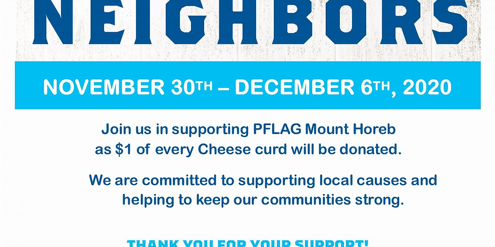 PFLAG MoHo Fundraiser at Culvers