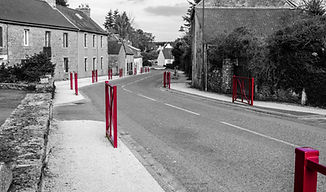 Aménagement du bourg de Berrien (29)