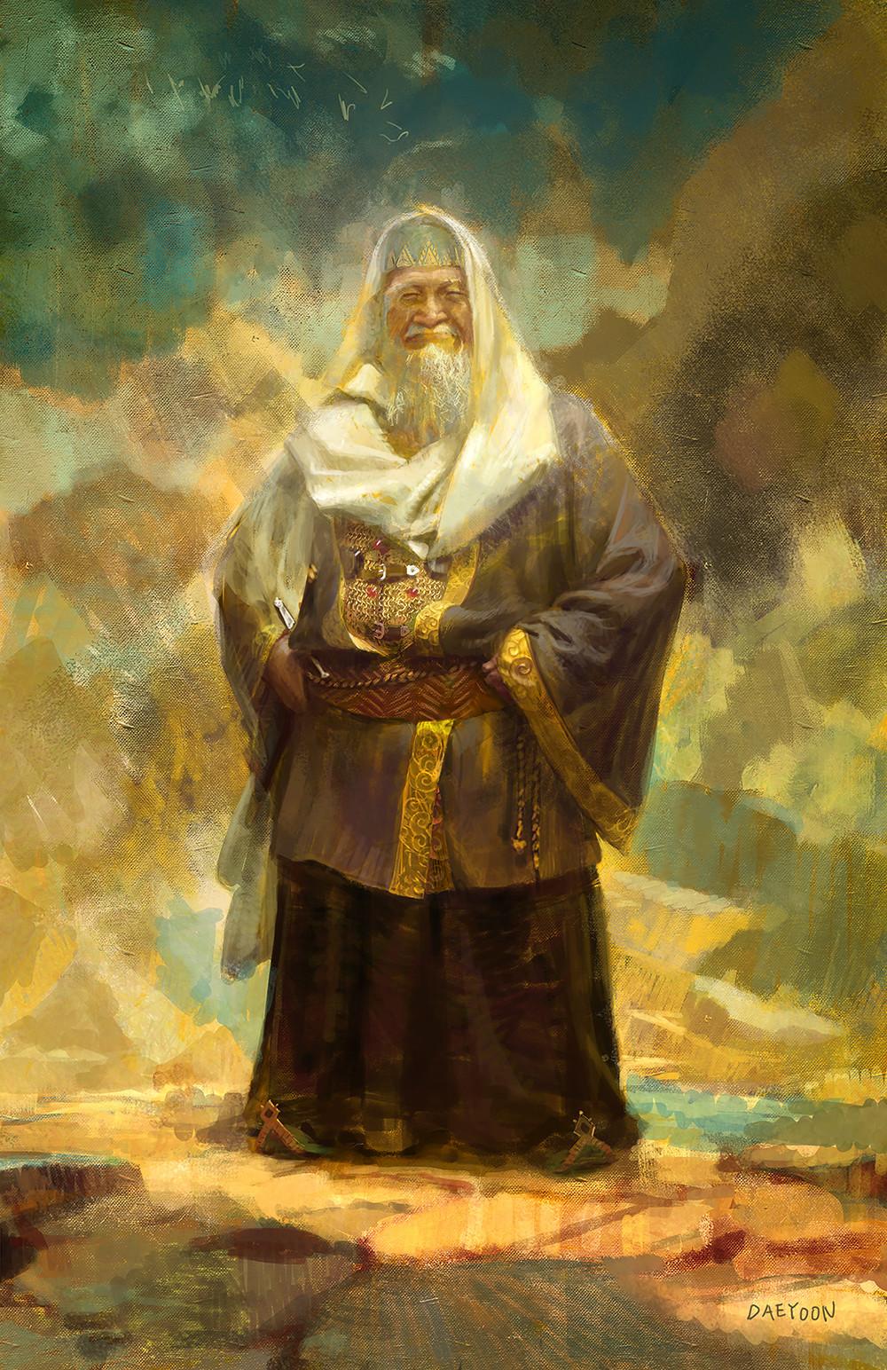The Alchemist- king melchizedek